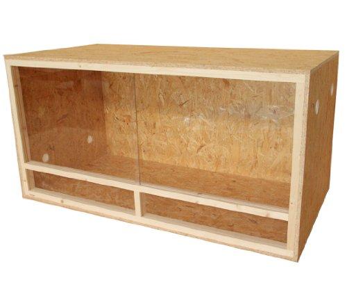 Dehner Holzterrarium Classic, ca. 118 x 60 x 60 cm