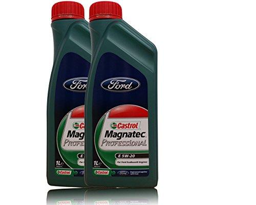 Castrol Magnatec Professional E 5W-20 Motoöl -2X 1 L = 2 Liter