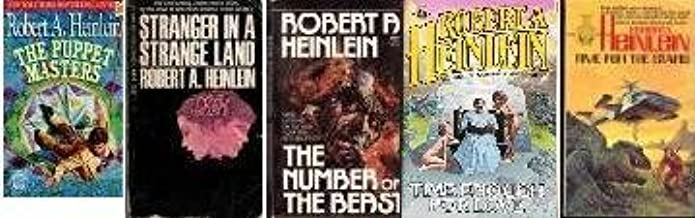 Robert Heinlein Collection: Number of the Beast, Time Enough for Love, Stranger in a Strange Land, Time for the Stars and ...