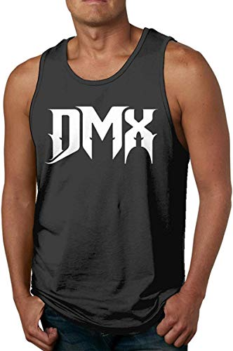Septrings DMX Men's All Over Print Sleeveless Tank Top Casual Sport Gym Vest Shirt