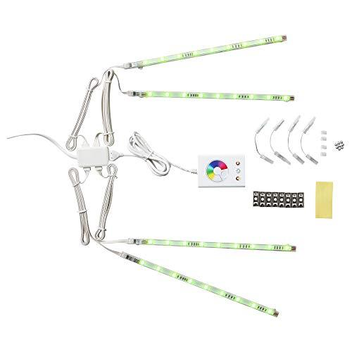 IKEA 501.923.65 Dioder Led 4-Piece Light Strip Set, Multicolor