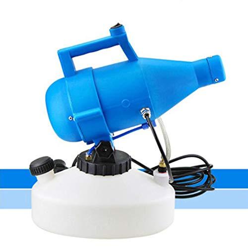 DZLXY Portátil 4.5L Atomizador de irrigación eléctrica, ULV Electric Fogger Pulverizador Frío Baja, Máquina desinfectante del atomizador de insecticida