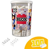 Blox - Bote de 100 Bloques, Color Blanco (Simba 4118915)