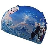 OGOBVCK la Natation Hat Childrens Tissu Tissu Bonnet de Bain étanche Cartoon Multicolore Bonnet de Bain garçon ou Fille (SnowFlown)