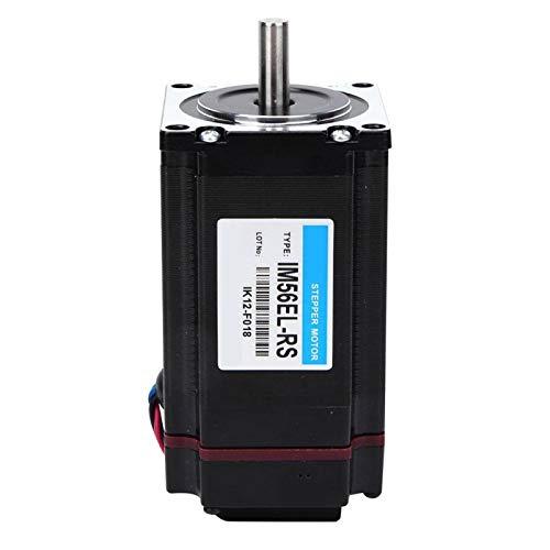 IM56EL-RS Motor paso a paso 1.8° DC 24-50V Micro Motor de torsión grande 2.2N.m Nema para impresora 3D con control de pulso de impulsión para DIY CNC
