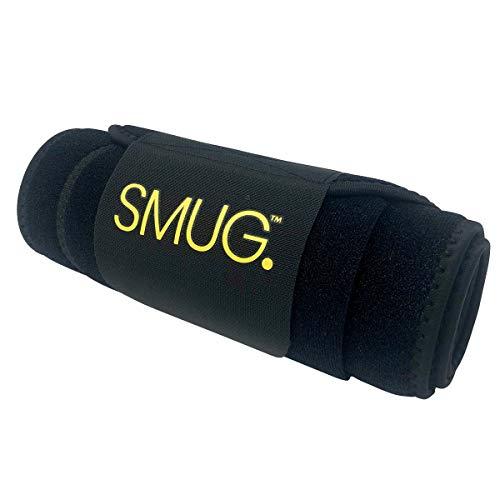SMUG Active Taillentrainer, Bauchtrainer, Schwarz, Größe L