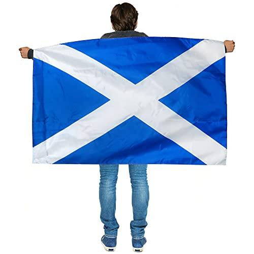 Cabo X 6 de Escocia con bandera usable de Escocia - Disfraz escocesa - Ftbol, Rugby - Eventos deportivos, Fiestas callejeras del da de San Andrs, festivales y celebraciones