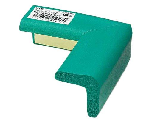 光 スポンジコーナー用 緑 30×30mm 00874461-1 SRK-32