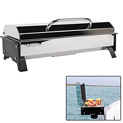 Kuuma 58121 Profile 150 Marine Gas Grill 9000BTU SS W/Regulator & 145sq in Grill Marine RV Boating Accessories