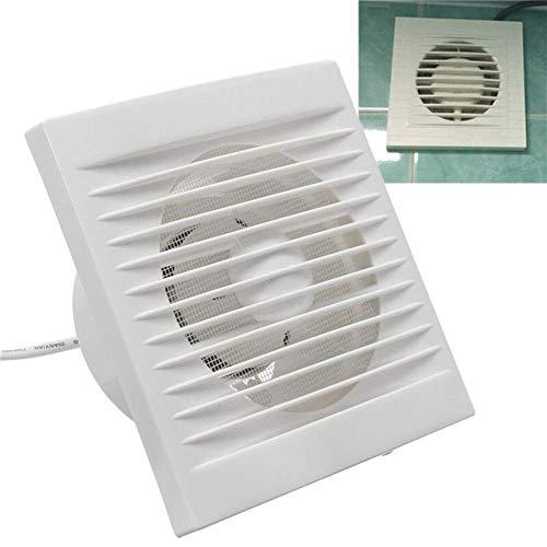 220V opknoping muur Wit Kleine Ventilator Extractor Exhaust Fans toilet Keuken Fan Hole 40W sudaijins (Color : 6 Inch)