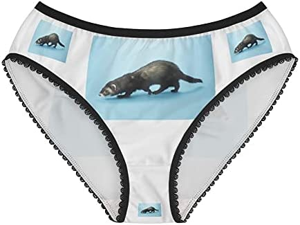 Ferret A surprise price is realized Panties Underwear Briefs U Cotton Funny Max 77% OFF