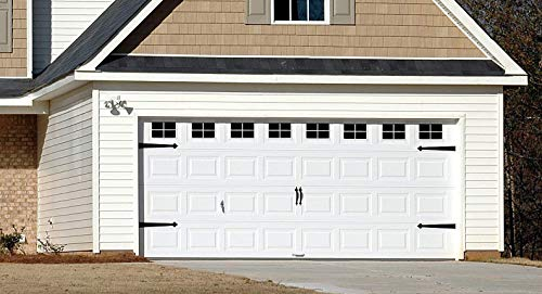 Decorative Faux - VINYL - Garage Door Windows (2 Car Garage)