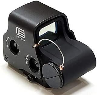 【最新刻印】EoTech タイプ EXPS-3 ミリタリータイプ ホロサイト ダットサイト/BK (ブラック)