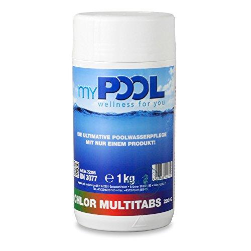 Chlor Multimischtabletten 1 kg von MyPool *283111*