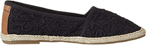 TOM TAILOR Damen 2792013 Espadrilles, Schwarz (Black), 38 EU