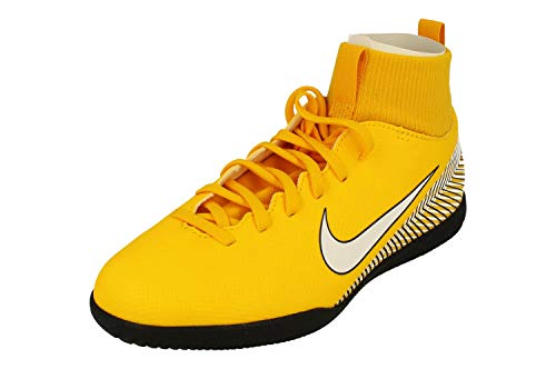 Nike JR Superfly 6 Club NJR IC, Zapatillas de fútbol Sala Unisex Adulto, Multicolor (Amarillo/White/Black 710), 38 EU