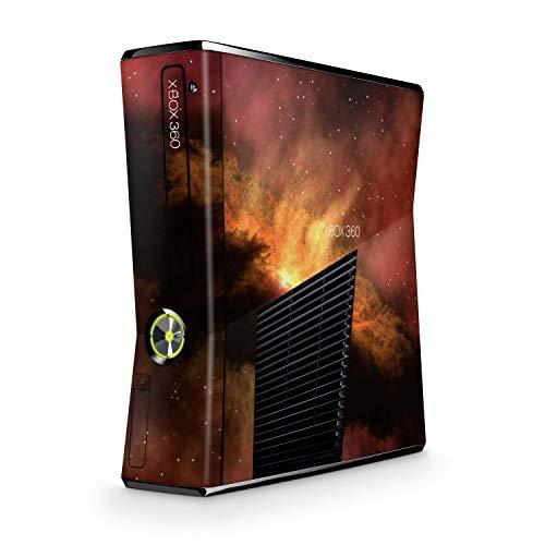 Skins4u Design modding Aufkleber Vinyl Skin Klebe Folie Skins Schutzfolie kompatibel mit Xbox 360 Slim Solar Storm