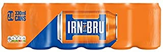 IRN-BRU Soft Drink Cans, 330 ml, Pack of 24 (B0048F1VT2) | Amazon price tracker / tracking, Amazon price history charts, Amazon price watches, Amazon price drop alerts