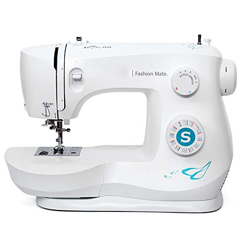 OMLTER Household Sewing Machine Electric Sewing Embroidery Machine Portable Tailoring Machine with...