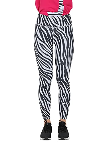 Nike - Pantaloni da Donna Viola/Bianco S