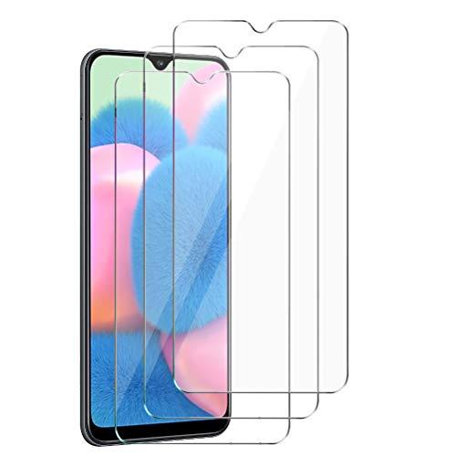 XinYue - 3 Stück - Panzerglas für Samsung Galaxy A30S / A50 / M30S, Samsung Galaxy A30S / A50 / M30S Schutzfolie, Anti-Öl Anti-Staub Keine Blasen 9H gehärtetes Glas