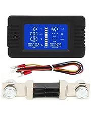 PZEM-015 multifunctionele batterijcapaciteitsmonitor, LCD digitale display batterijtestdetector met 300A shunt voor loodzuuraccu Voertuigaccu(015 (300 A))