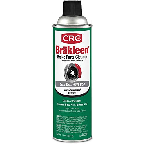 CRC 05084 Brakleen Non-Chlorinated Brake Parts Cleaner-14 oz