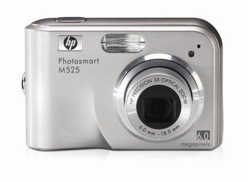 HP Photosmart M525 Digitalkamera, 6 Megapixel, 3-Fach optischer Zoom