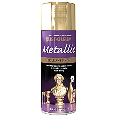 Rust-Oleum Brilliant Metallic Spray Paint 400ml