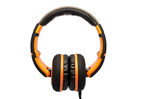 cad headsets CAD Audio Sessions MH510OR Closed-Back Headphones, Black/Orange