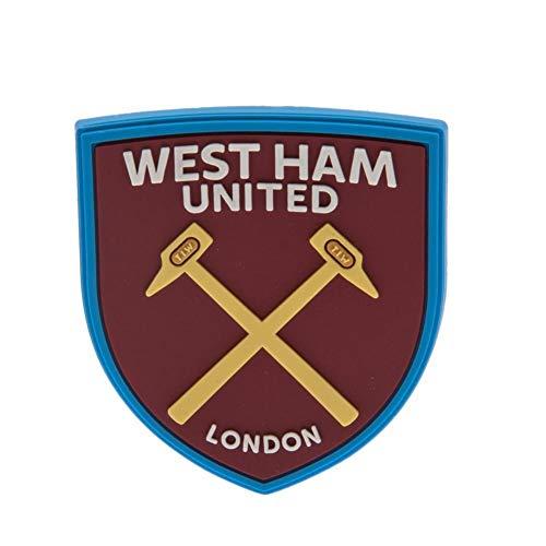West Ham United FC - Calamita 3D da frigo (Taglia unica) (Bordeaux)
