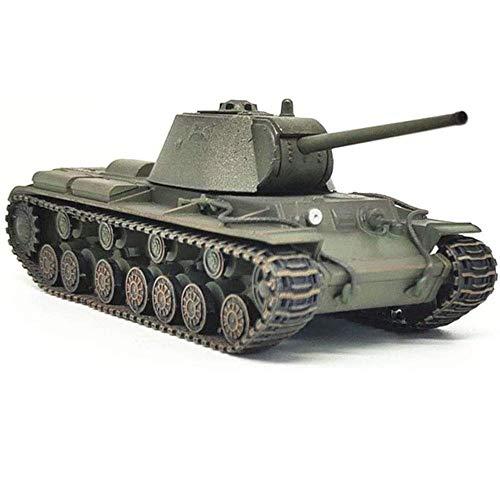 HYLL 1:72 Scale Diecast Tank Modelo de plástico, KV-3 Tanque Pesado 6en Unión Soviética, Juguetes Militares y Regalos, 4.7 Pulgadas x 1.9 Pulgadas