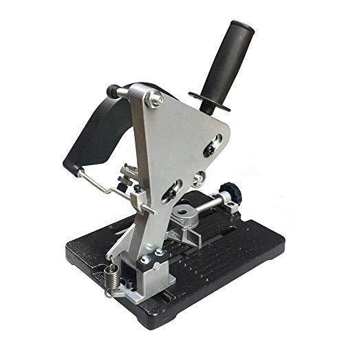 small HOT STORE Angle grinder stand Grinder holder Knife holder Metal holder Iron base 100-125 Angle…