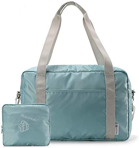 Bolsas de Gimnasio Viajes ligera Bolsa plegable de gran capacidad a prueba de agua bolsa de viaje de corta distancia bolsa se puede Bolsa Conjunto caja de la carretilla de hombro del bolso del gimnasi