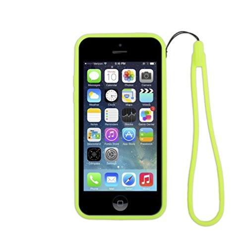 Aiino Bumper - Funda para Apple iPhone 5C, color verde
