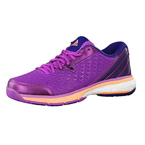 adidas Damen Volleyballschuhe Energy Boost Volley Flash Pink S15/Night Sky/Flash Orange S15 46