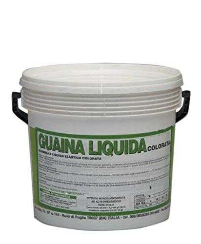 Fermart - Guaina Liquida resinosa, rossa, 5 kg