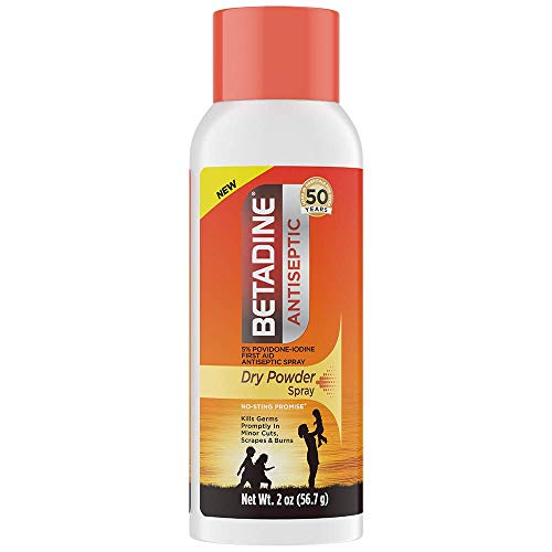 Betadine Antiseptic Dry Powder Spra…