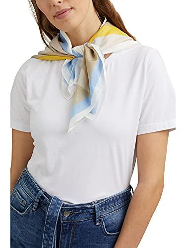 sciarpa bianca ESPRIT 041EA1Q317 Sciarpa da Donna