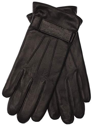 EEM Herren Leder Handschuhe MORTEN aus Lammnappaleder; schwarz, L