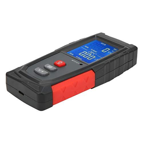 Operación con una sola mano Alarma de luz y sonido Detector de radiación Detector de campo electromagnético Probador de campo electromagnético para fábrica