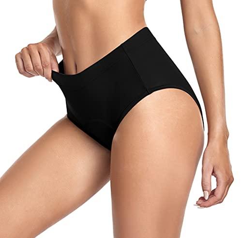 Fancyskin Women s Cycling Briefs Underwear 3D Padded Bike Shorts Bicycle Half Short Boxer Briefs Black S