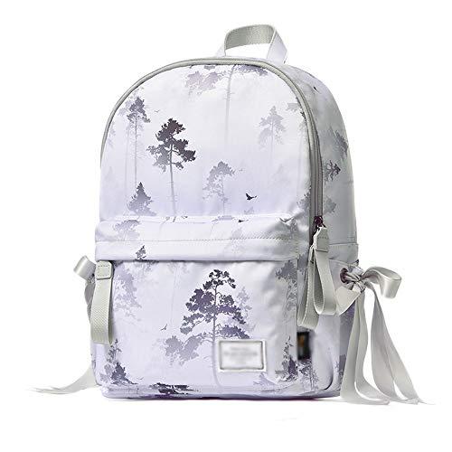 MTnoble Schoolbag Design - Gitch Laptop Fino a Daypack, Modern Urban Unisex Liep Semplice Zaino in Una Classica Borsa for Laptop Porta Porta Tumid capacità Raincoat Anti-Theft Zaino da Viaggio