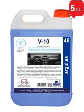 ARGUIPRO Line V10 Professional Car Wash. 5 litros. Limpia SALPICADEROS Profesional Efecto...