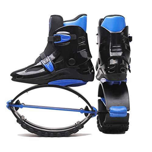 SXZHSM Zapatos de salto de rebote, zapatos de salto para fitness y entrenamiento, zapatos de salto unisex zapatos de rebote para adultos jóvenes, botas hinchables antideslizantes ajustables, cómodos y
