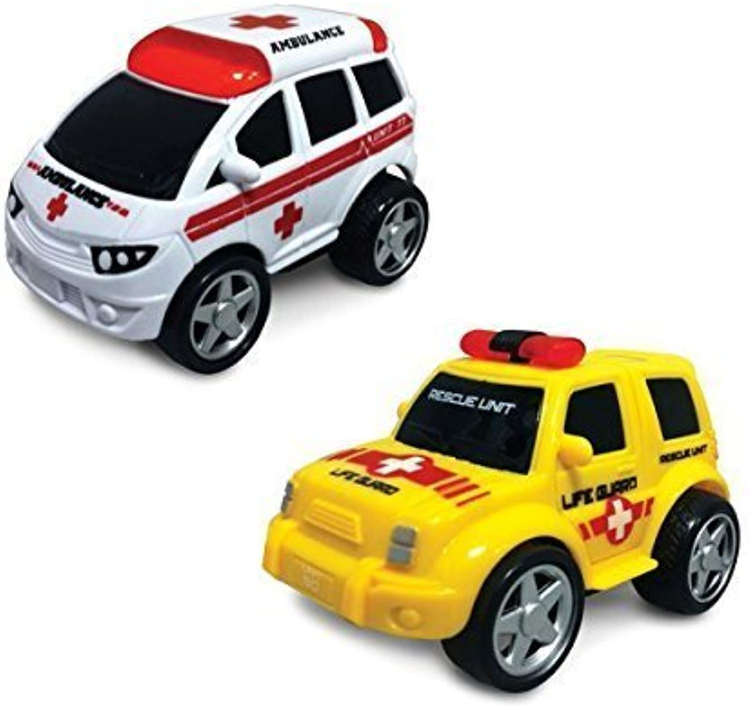 Junior Racers Push n Go Ambulance and Life Guard by Junior Racers