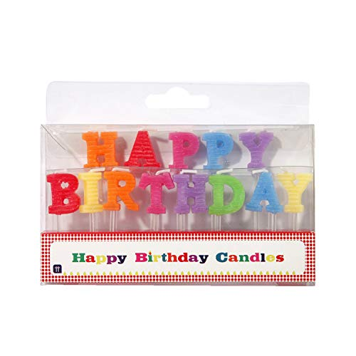Talking Tables 1 Letras Velas – Happy Birthday