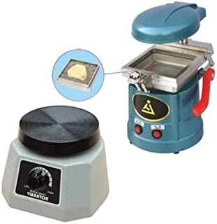 Zgood Dental Lab Vacuum Forming Molding Former Machine JT-18 + Round Vibrator Vibrating JT-14 NEW by East Dental