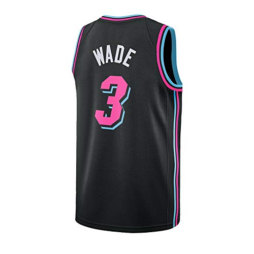 Ddesh Men's Wade Jersey 3 City Black (Black, Large)