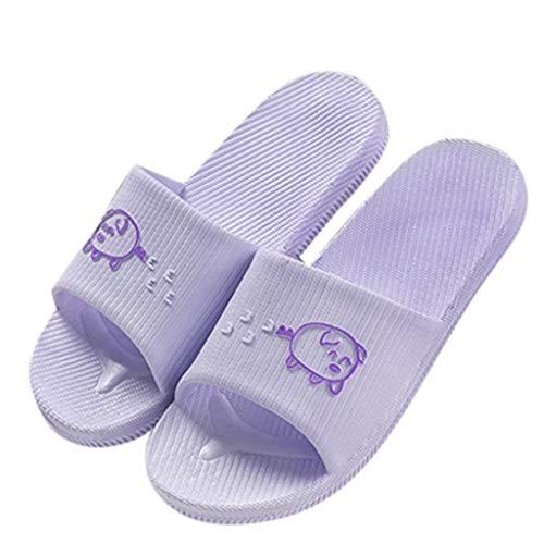 Luckycat Sandalias de Punta Descubierta para Mujer Zapatos de Playa y Piscina Unisex Adulto Zapatillas Impermeables Chanclas Unisex Adulto